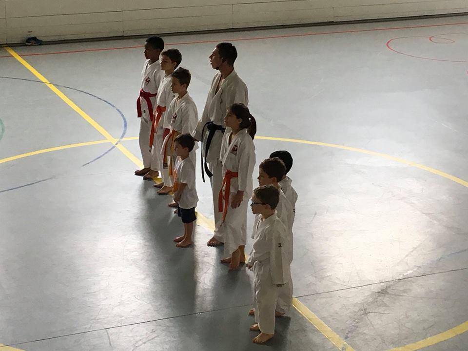 Karate equipa