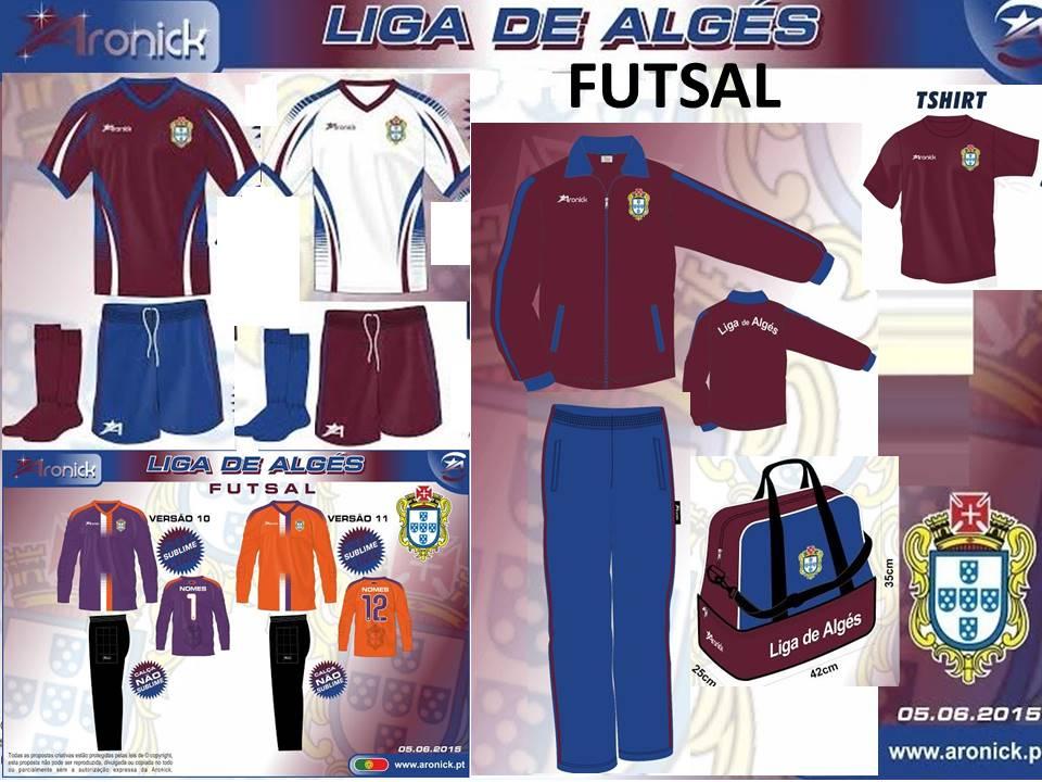 Equipamento total Futsal